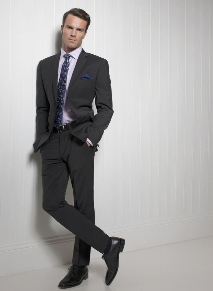 Slim fit men's formal , shorter length jacket teams up with our slim fit trousers (BR-8655)  to make great looking , practical mix & match suit for the office , travel or leisure.  avana-collection.com