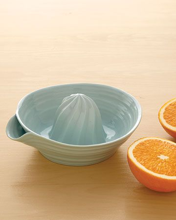 I love this!  I have my own, which isn't quite as cute, that I use to make fresh orange juice.  I love this one!