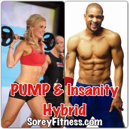 Insanity Les Mills PUMP Hybrid 10-Week Workout Schedule