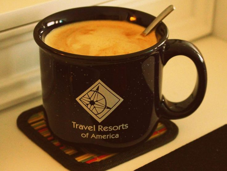 Working on many projects for Travel Resorts of America...gonna need a bigger cup for today!