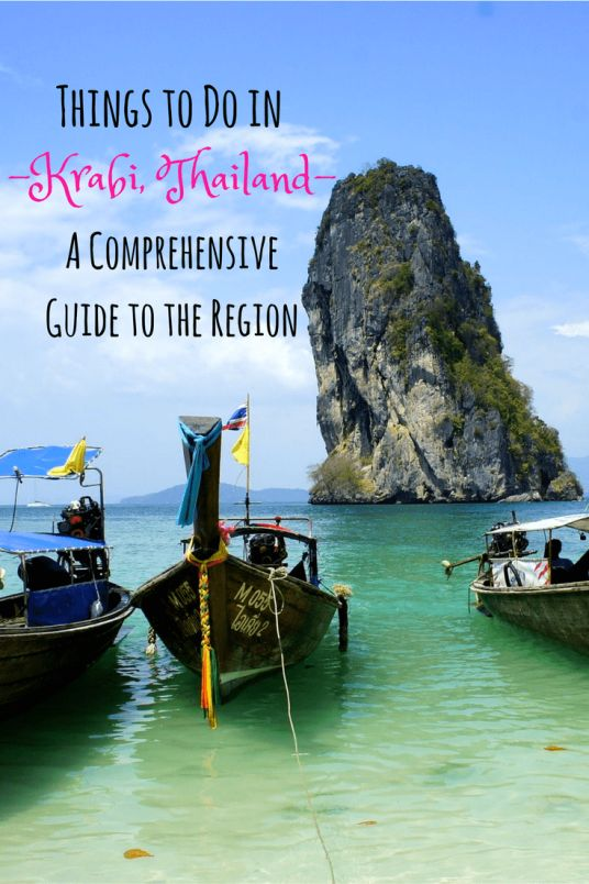 Things to Do in Krabi, Thailand! The best Krabi beaches and Krabi attractions for the region.