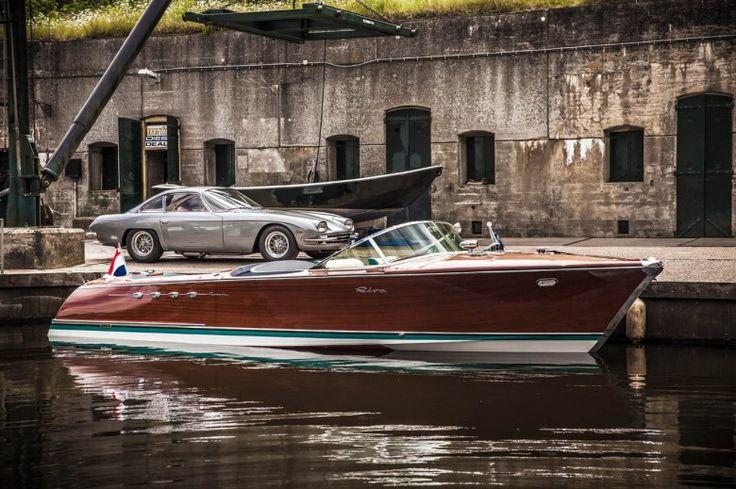 Ferruccio Lamborghini'nin İki V12′li Riva Hız Teknesi Restore Edildi | SIFIRYUZ.com | Dijital Erkek Magazini
