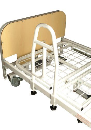 NRS Healthcare M66429 Community Bed Grab Rail Handle for Metal Profiling Beds