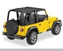 Bestop Safari Bikini® tops for Jeep Wrangler, 97-02, #52530