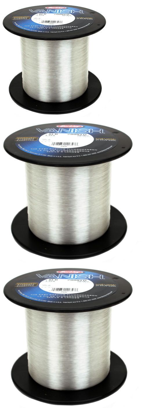 Fluorocarbon Line 179967: Berkley Vanish Fluorocarbon Fishing Line Spool 2000 Yds 8Lb Clear 1010785 -> BUY IT NOW ONLY: $75.99 on eBay!