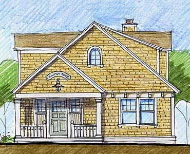 17 best images about small beach house plans on pinterest for Maine cottage house plans