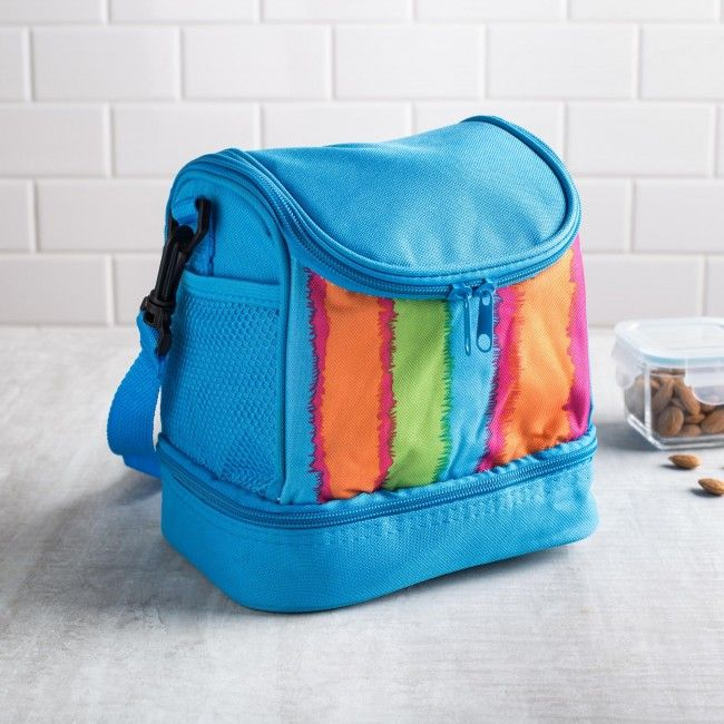Say goodbye to those brown paper bags. Keep your lunch cool and fresh with the KSP Tote Insulated Lunch Bag. With a variety of fun patterns to choose from, there is sure to be one to suit your unique style.