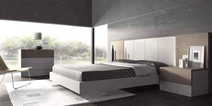 Dormitorios de la nueva colección de Guardia taller de muebles, Diseños modernos en una firma clasica dentro de los fabricantes de muebles Españoles, Calidad y experiencia en la fabricación de muebles con una imagen renovada y funcional