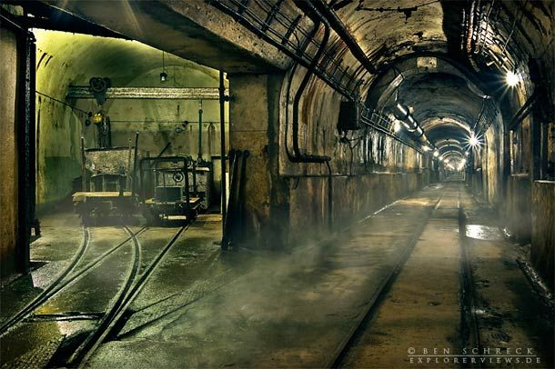 """German photographer Ben Schreck, currently based in Nantes and passionate by """"urban decay"""", photographed abandoned bunkers along the Maginot Line in a beautiful"""