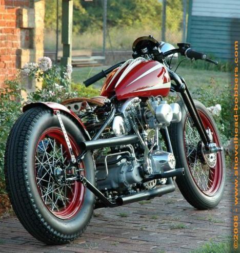 Shovelhead | Bobber Inspiration - Bobbers and Custom Motorcycles | shotbike August 2014