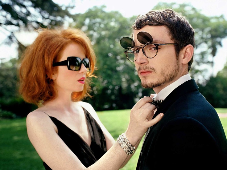 Shirley Manson and Elijah Wood.