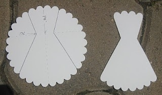 scallop circle dress and directions