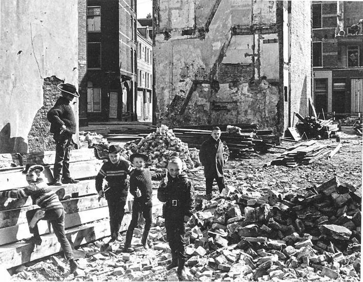 Amsterdam: De Sloop van Kattenburg 18 maart 1964