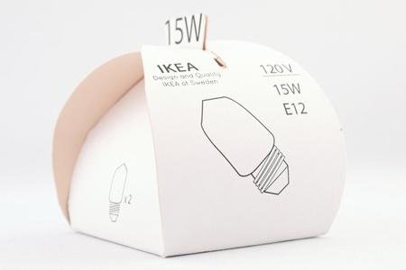Ikea bulb packaging PD