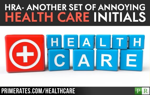 ANOTHER SET OF ANNOYING HEALTHCARE INITIALS   It seem as if the health care industry is becoming like the defense industry with acronyms and initials identifying products and programs. Without a code book you most likely miss a lot of what the discussion is about.  Article: http://www.primerates.com/2013/6/18/healthcare/hraanother-set-of-annoying-health-care-initials.html