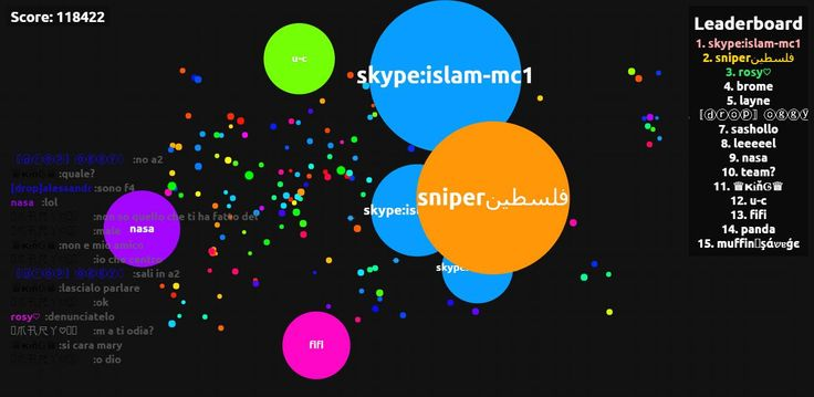 118422 score game screenshot in user skype:islam-mc1 agario game score screenshot - skype:islam-mc1 saved mass