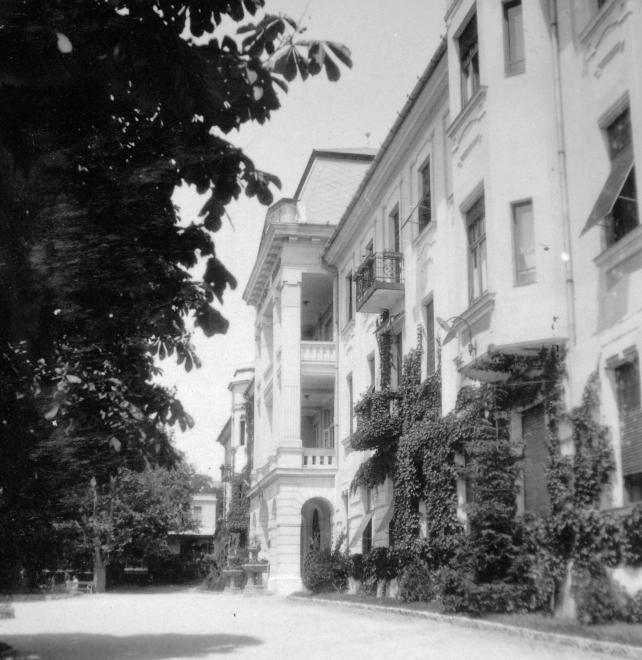 Erzsébet szanatórium (ma Szívkórház).