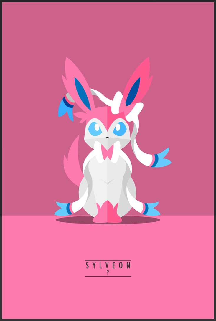 Sylveon : ? by *WeaponIX on deviantART