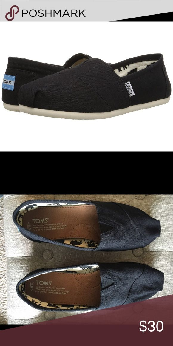 Women's TOMS size 8.5 Excellent condition- worn once. TOMS Shoes Sneakers