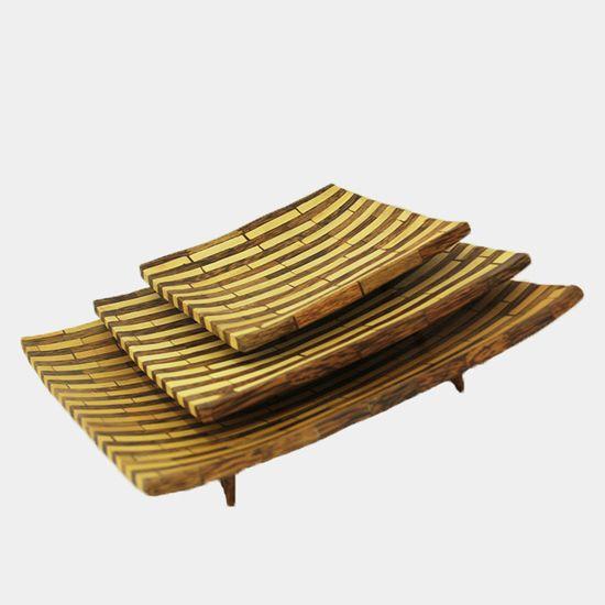 Sushi Plate | Terbuat dari kayu kelapa dan kayu nangka