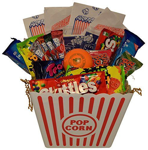209 best candy chocolate gifts images on pinterest chocolate ultimate movie night gift bundle care package easter basket christmas present valentines day with popcorn candy cookies plus snack better stress ball for negle Gallery