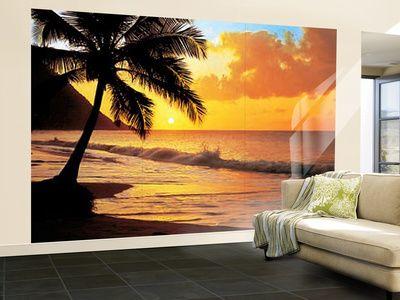 Pacific Sunset Huge Wall Mural Art Print Poster Wallpaper Mural At  AllPosters.com Part 82