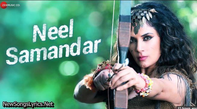 Neel Samandar Song Lyrics Prakriti Kakar Song Lyrics Songs New Album Song