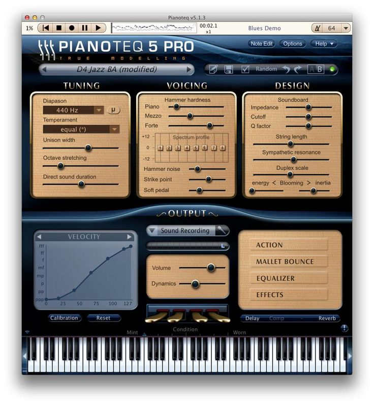Pianoteq   Virtual Piano, Physically Modelled Acoustic And Electric Pianos