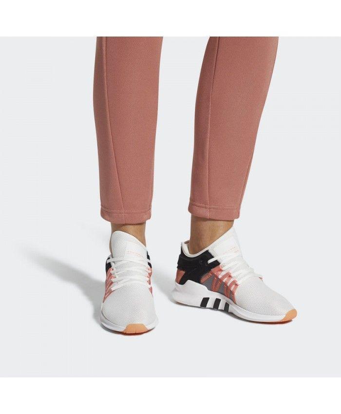 Adidas Women Originals Eqt Racing Adv White Chalk Coral
