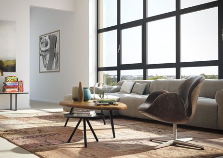 Oscar Properties : Biografen #oscarproperties living room, windows, sofa