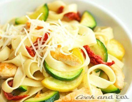 Феттуччини с курицей - Экспресс блюда - Cook and Eat