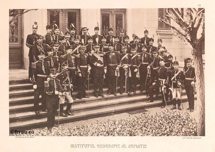 "Institutul Geografic al Armatei, 1902, Romania. Ilustrație din colecțiile Bibliotecii Județene ""V.A. Urechia"" Galați. http://stone.bvau.ro:8282/greenstone/cgi-bin/library.cgi?e=d-01000-00---off-0fotograf--00-1----0-10-0---0---0direct-10---4-------0-1l--11-en-50---20-about---00-3-1-00-0-0-11-1-0utfZz-8-00&a=d&c=fotograf&cl=CL1.4&d=J014_697980"