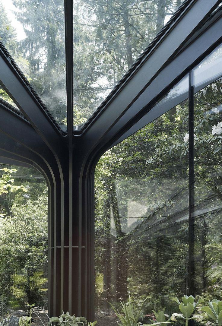 Invernadero Jardín Botánico Grueningen por idA Grüningen, Switzerland (2012) 180m2