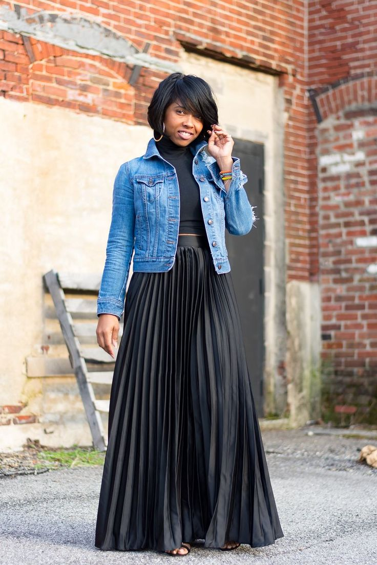 fantastic pleated denim skirt outfit pants