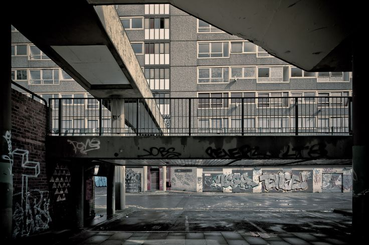 HEYGATE ESTATE | ELEPHANT & CASTLE | WALWORTH | LONDON BOROUGH OF SOUTHWARK | LONDON | ENGLAND: *Completed: 1974; Demolished: 2011-2014; Designed By: Tim Timker*