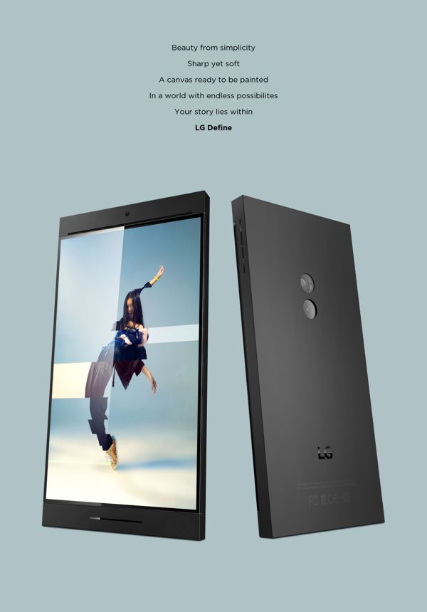 LG Industrial Design Gets Fresh Concept; Cameraphone Included | Concept Phones
