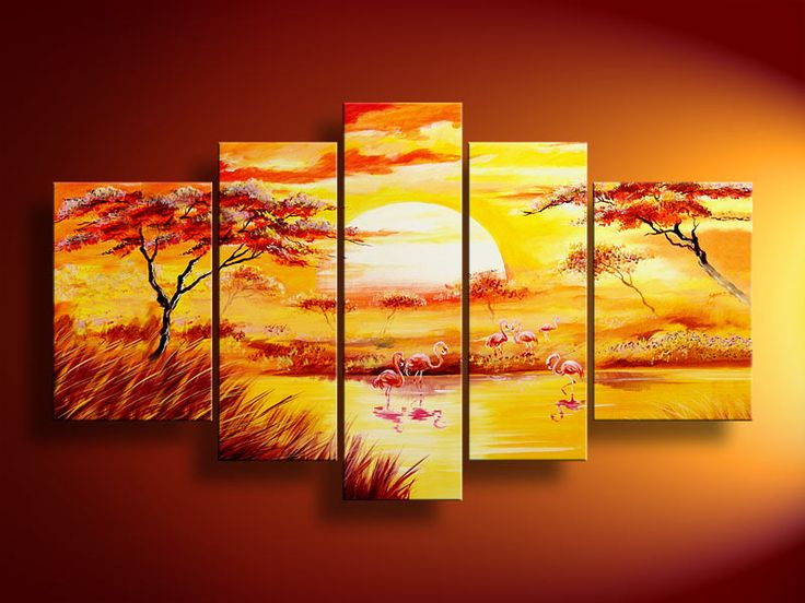 155 best A Multiple Canvas Painting images on Pinterest | Canvas ...