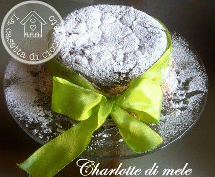 la casetta di cioccolato: Charlotte di mele alla cannella