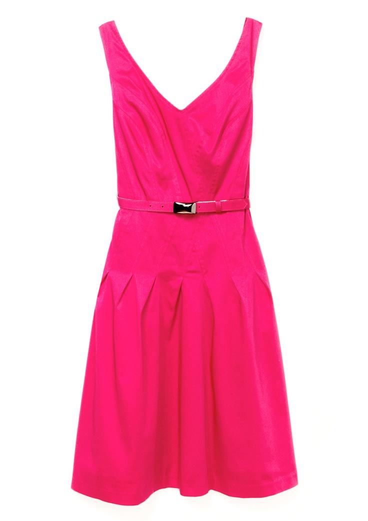 #Ideeli LOVE this, will match my new heels I got from Ideeli.com: Pink Dress