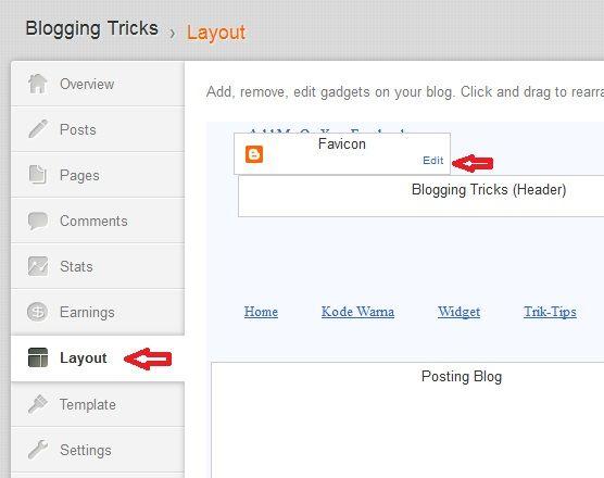 Cara Mudah Mengganti Favicon Blogger Tanpa Mengedit HTML   MasDenif - Media Informasi Tekhnologi dan Aplikasi Terbaru