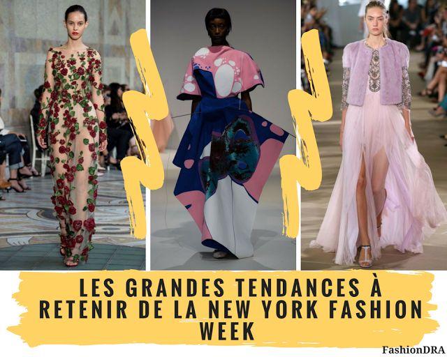 FashionDRA   Les Grandes Tendances à retenir de la New York Fashion Week
