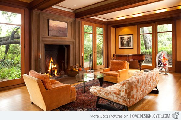 Warm Living Room Ideas: 25+ Best Craftsman Living Rooms Ideas On Pinterest
