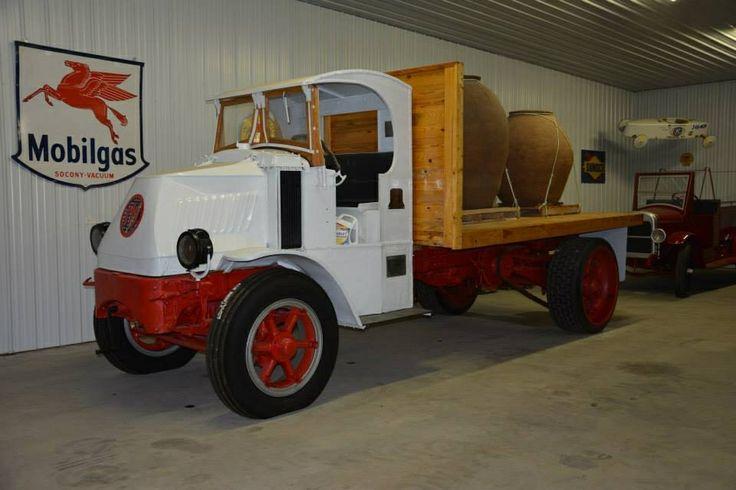 Vintage Wheel Works >> Beautiful restored 1920s Mack truck | Old Mack trucks | Pinterest | Mack trucks