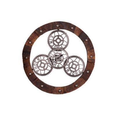 Innovative Quarz Wanduhr aus Metall, braun lackiert Jetzt bestellen unter: https://moebel.ladendirekt.de/dekoration/uhren/wanduhren/?uid=e41c4fe5-41fb-547d-9ab3-c7fc94c717c4&utm_source=pinterest&utm_medium=pin&utm_campaign=boards #heim #uhren #dekoration