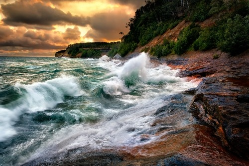 lake superior fury: Pictures Rocks, Photos, Geyser, Ears Mornings, Superior Fury, Beaches Photography, Lakes Superior, Steve Perry, The Waves