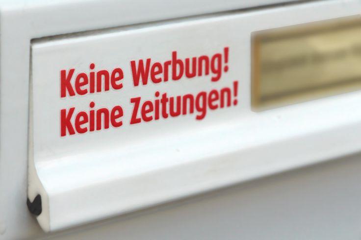 Briefkasten Tattoo's (Keine Werbung) Aufkleber auf Briefkasten