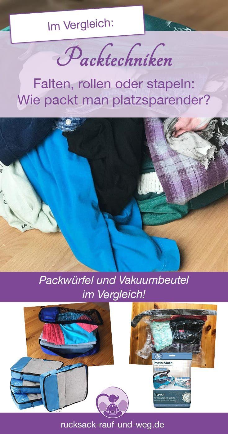 die beste packtechnik für kleidung | koffer packen tipps