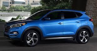 2016 Hyundai Tuscon in Caribbean Blue