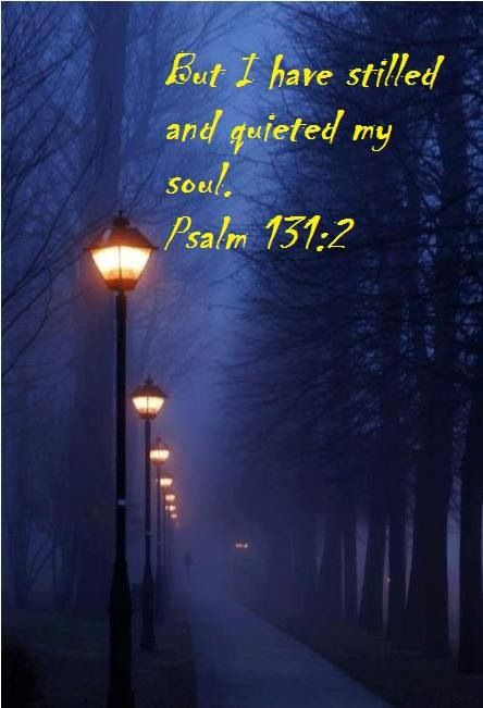 Psalms 131:2 Surely I have calmed and quieted my soul, Like a weaned child with his mother; Like a weaned child is my soul within me. www.Agrainofmustardseed.com