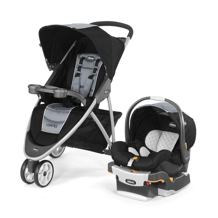 Chicco Viaro Stroller Black